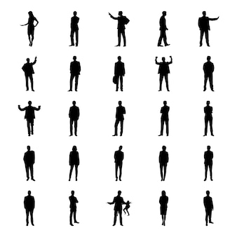 Human poses pictograms pack