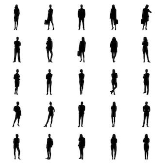 Human poses pictograms