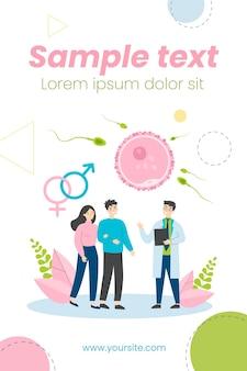 人間の生殖と家族計画の概念