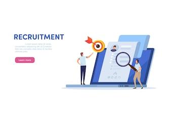Human resource  recruitment.