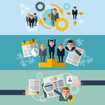 Human resources personnel selection and effective recruiting employees strategy