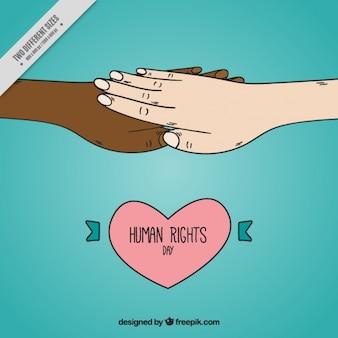 함께 손과 마음으로 인권의 날 배경