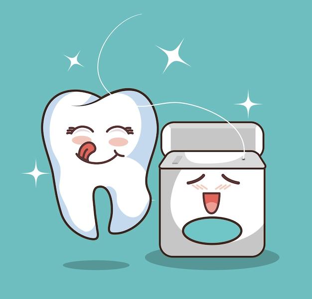 Значок символа человеческого зуба