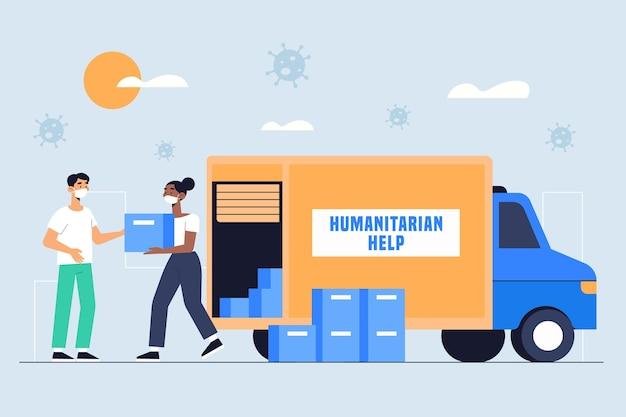 Концепция гуманитарной помощи