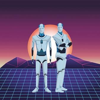 Humanoid robots avatar