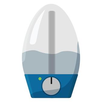 加湿器。空気清浄機ベクトルフラットデザイン。