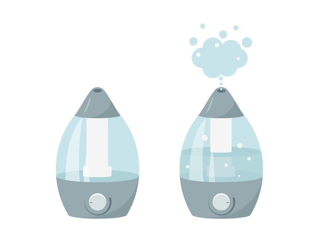 Humidifier icon on white background