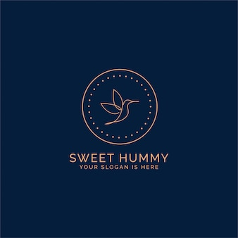 Humming bird logo