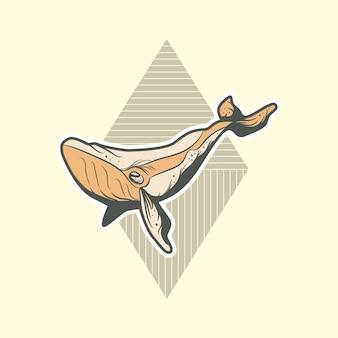 Humpback whale design