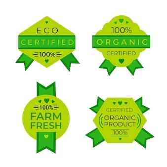 Пакет 100% натуральных значков
