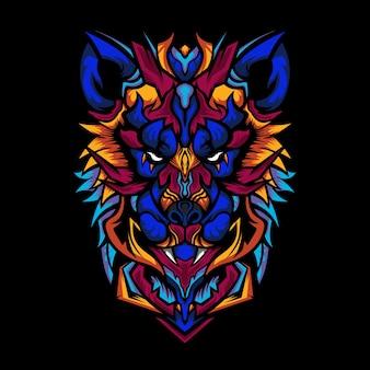 Иллюстрация отряда охотника-волка