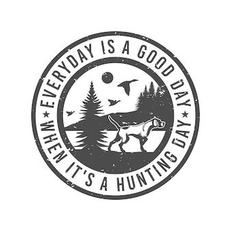 猟犬英語ポインター鳥犬エンブレムバッジ