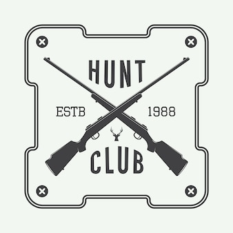 狩猟ラベル、ロゴ