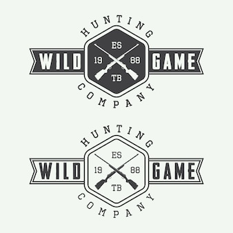 Hunting labels