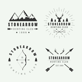 Hunting logos and badges