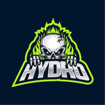 Hydro esportsロゴ