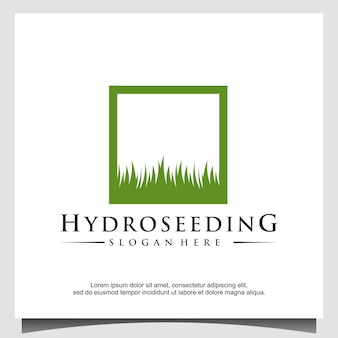 하이드로 시드 로고 디자인 서식 파일