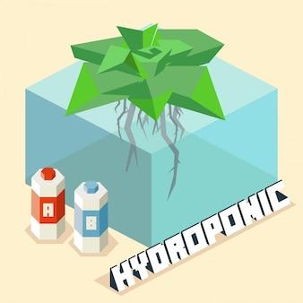 Hydroponic farming system