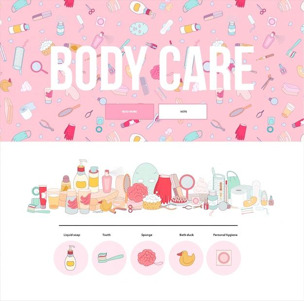 Hygiene web template