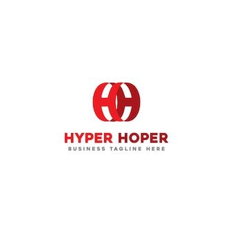 Hyper hoper logo template
