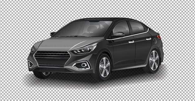 Hyundai solaris. one of the best-selling models of hyundai motor company