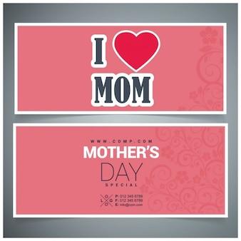I love mom карты