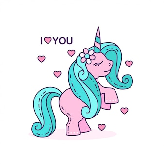 I love you unicorn