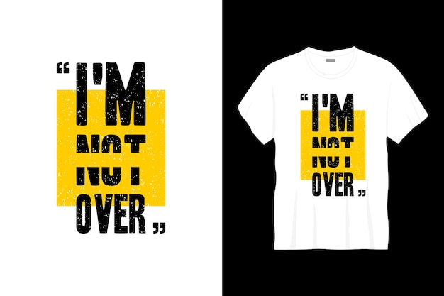 Я не слишком увлекаюсь дизайном футболок с типографикой.