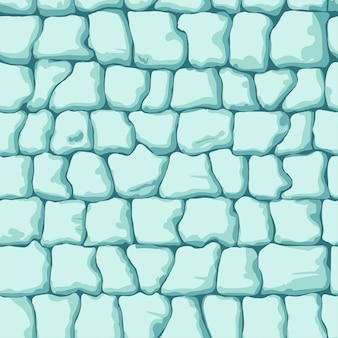 Ice brick seamless pattern