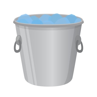 Ice bucket for alcohol