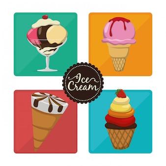 Ice cream design