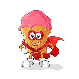 Герои мороженого мультипликационный персонаж