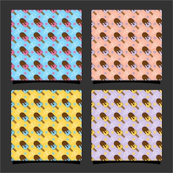 아이스크림 원활한 패턴 design02