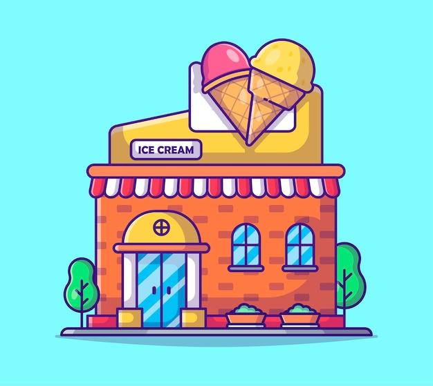 Мультфильм магазин мороженого