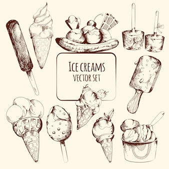 Ice cream sketch