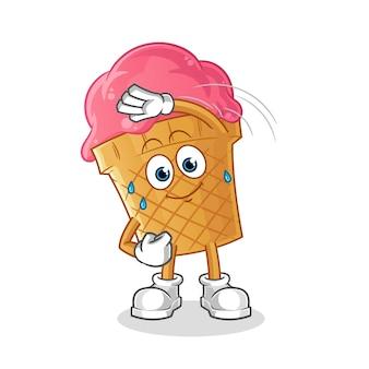 아이스크림 스트레칭 그림
