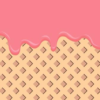 Ice Cream Summer Background