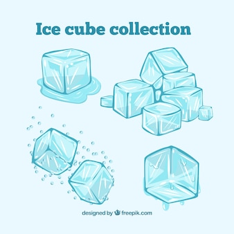 Ice cube collection