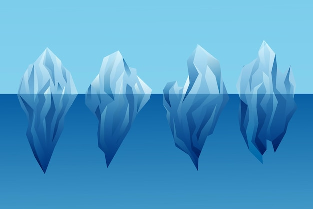 Концепция природы коллекции айсберг