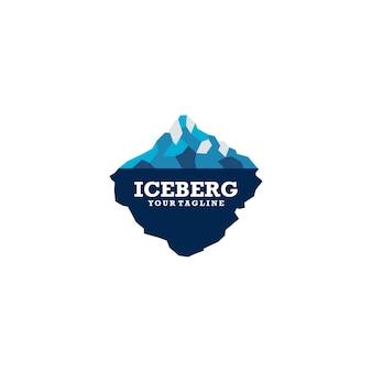 すぐに使用できるicebergのロゴ