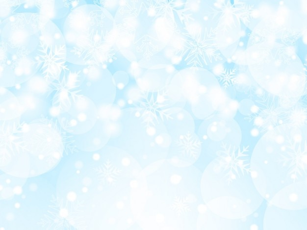 Iced christmas background