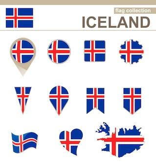 아이슬란드 국기 컬렉션, 12개 버전
