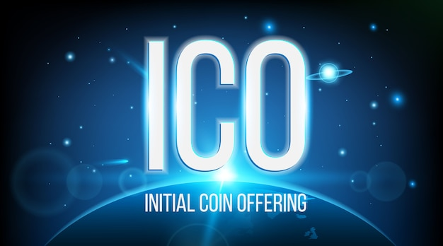 Ico initial coin offering blockchain.