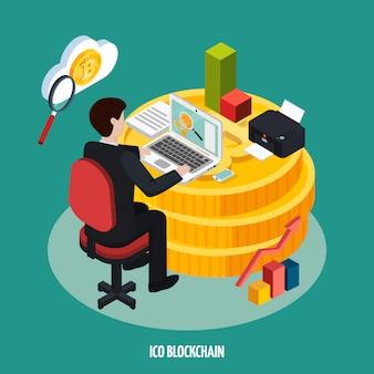 Icoブロックチェーン開発等尺性組成物