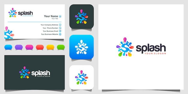 Icon and business card