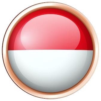 인도네시아 국기 아이콘 디자인