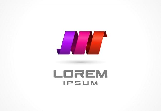 Значок элемента. абстрактная идея логотипа для деловой компании. спираль, весна, технология, наука и медицинские понятия. пиктограмма для фирменного стиля шаблона. иллюстрация иллюстрация