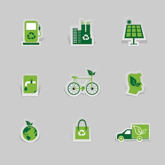 Icon environmental and eco-friendly technologies
