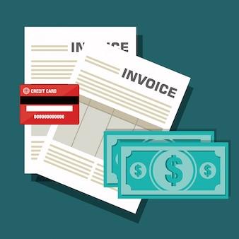 Icon invoice design