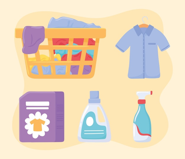 Icon of laundry